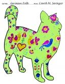 2021-carol-serazio-german-folk-art-cat